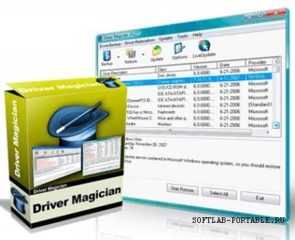 Driver Magician Pro 5.2 Portable