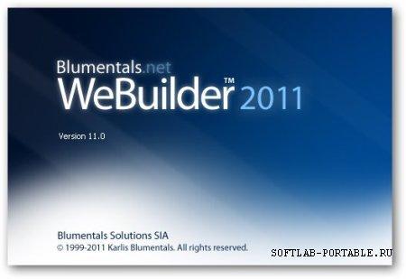 Blumentals WeBuilder 15.0 Portable