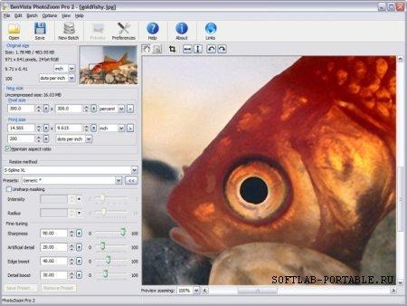 PhotoZoom Pro 7.0.6 Portable