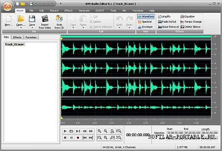 AVS Audio Editor 9.1.1.537 Portable