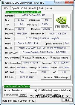 GPU Caps Viewer 1.40.0.0 Portable