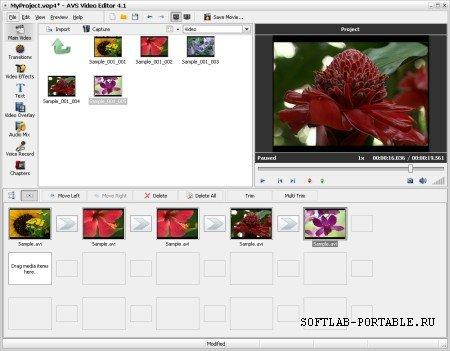 AVS Video Editor 7.5.1.288 Portable