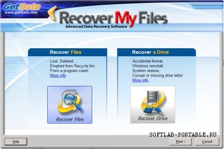 GetData Recover My Files 5.1.0.1824 Portable