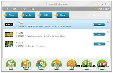 Freemake Video Converter 4.1.10.523 Portable
