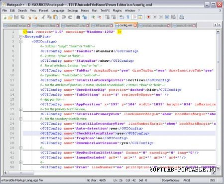 Notepad++ 7.4.1 Portable