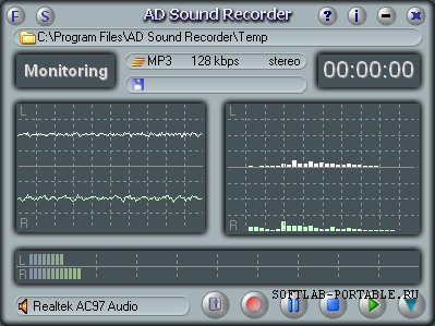 Adrosoft AD Sound Recorder 5.7.1 Portable