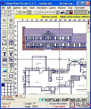 Home Plan Pro 5.6.2.1 Portable