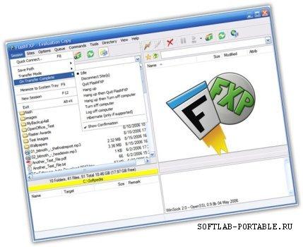 FlashFXP 5.4.0 Build 3965 Portable