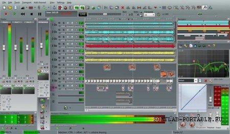 n-Track Studio 9.1.0 Build 3628 Portable