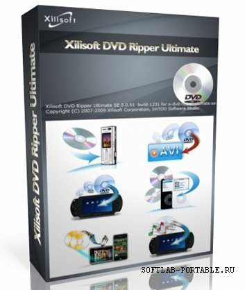 Xilisoft DVD Ripper Ultimate 7.8.23 Portable