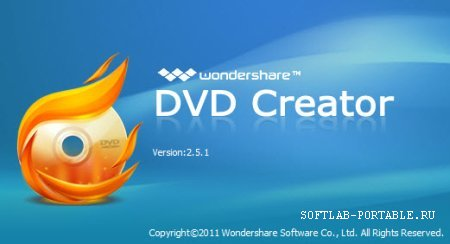Wondershare DVD Creator 6.1.0.68 Portable