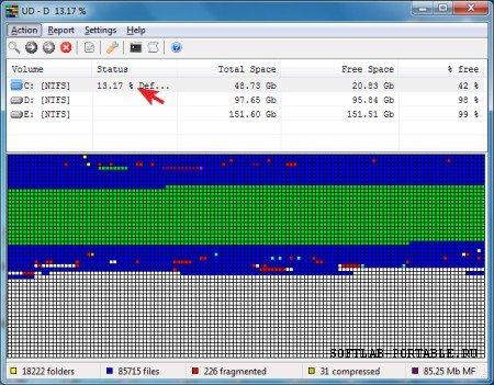 UltraDefrag 7.1.4 Final Portable
