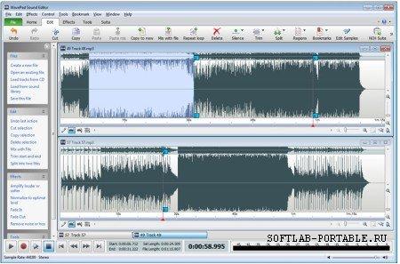 WavePad Sound Editor 8.0 Portable