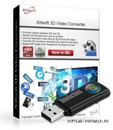 Xilisoft 3D Video Converter 1.1.0.20120720 Portable