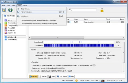 qBittorrent 4.1.4 Portable