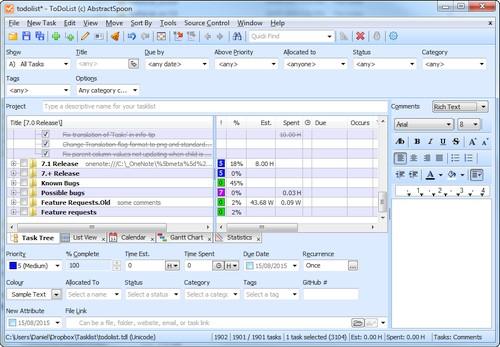 ToDoList 7.2.0.0 Portable