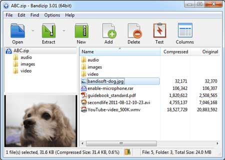 Bandizip 7.0 Final Portable