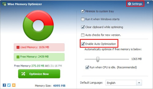 Wise Memory Optimizer 3.67.111 Portable