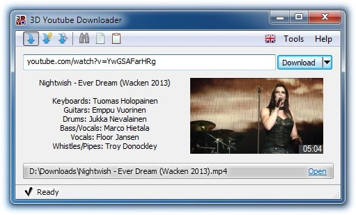 3D Youtube Downloader 1.16 Portable