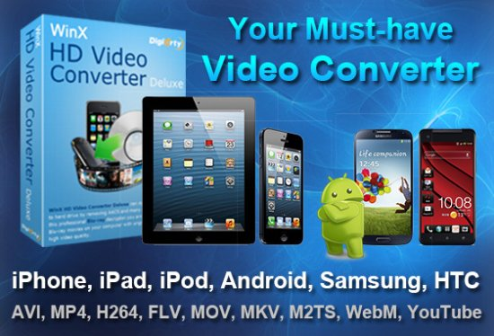 WinX HD Video Converter Deluxe 5.16.0 Portable