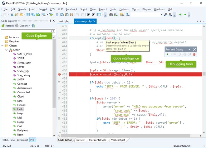 Blumentals Rapid PHP 15.4.0.206 Portable