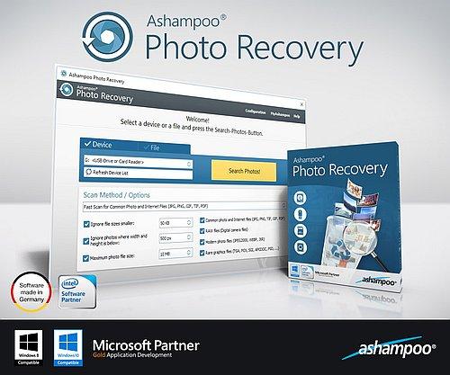 Ashampoo Photo Recovery 1.0.5 Portable