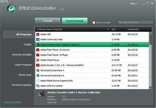 IObit Uninstaller 7.4.0.8 Portable